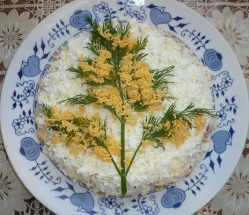 Украшение на салаты рецепты
